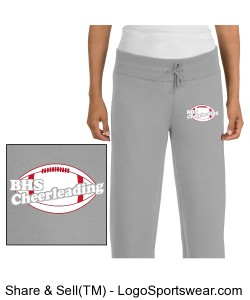 BROOKLINE CHEER SWEAT PANTS Design Zoom